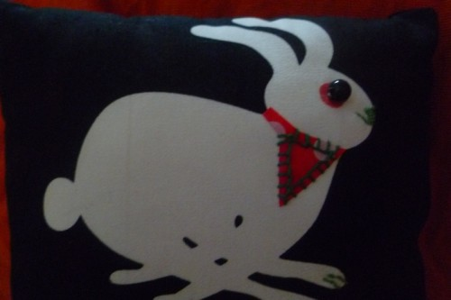 coussin,couture,deco,lapin,tortue