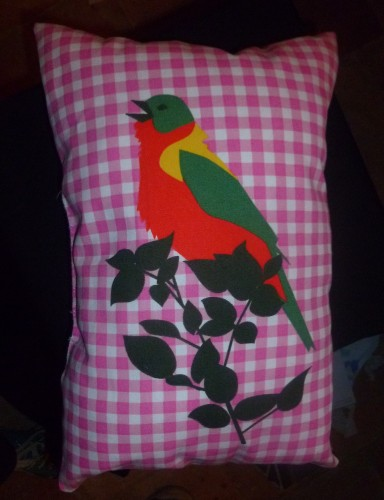 couture, coussin